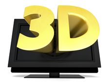 Free 3D Television Royalty Free Stock Photo - 19645495