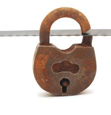 Free Old Padlock Stock Photos - 19645973