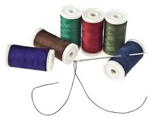 Free Colored Bobbins Stock Photography - 19646302