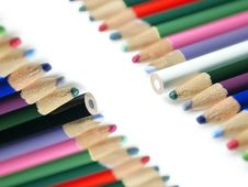 Free Color Pencil Stock Photography - 19646562