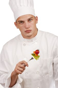 Free Chef In Uniform Royalty Free Stock Image - 19647286