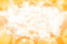 Free Christmas Light Background Yellow And White Royalty Free Stock Photography - 19647477