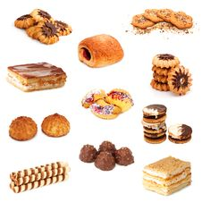 Free Biscuits Collage Stock Images - 19648194