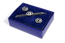 Free Tie Clip And Cufflinks Stock Image - 19648561