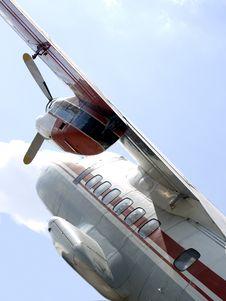 Free Wing, Engine, Propeller, Porthole, Plane Stock Photography - 19649632
