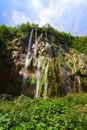 Free Plitvice Waterfall In Croatia Royalty Free Stock Photo - 19651245