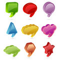 Free Colorful Speech Bubble Royalty Free Stock Photo - 19656455