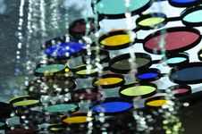 Free Colorful Tinted Glass Design Royalty Free Stock Photos - 19650048