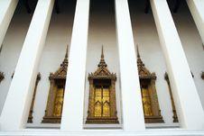 Free Temple Window Stock Image - 19650291