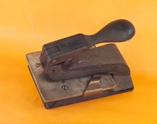 Free Vintage 1 Hole Punch Stock Photography - 19650602