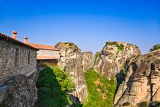 Free Meteora Monastery In Greece Royalty Free Stock Images - 19651219