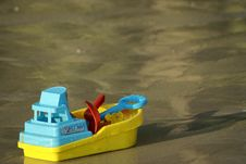 Free Boat Toy Stock Image - 19651401