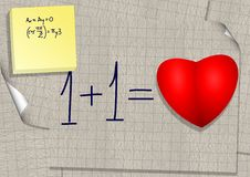 Free Calculation Of Love Royalty Free Stock Image - 19651666