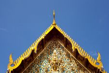 Free Roof Of Temple Thailand. Royalty Free Stock Photo - 19651875
