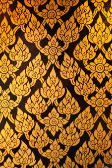 Free Pattern Paint Thai Royalty Free Stock Photography - 19652297