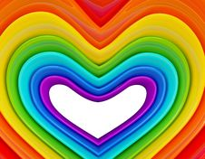 Free Rainbow In Hearth Stock Photos - 19653023