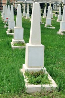 Free Rows Of Graves Stock Photo - 19653170
