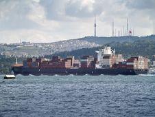 Free Cargo Ship Stock Image - 19653341