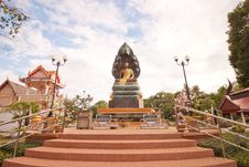 Free Nak Prok Buddha,statue In Thailand. Royalty Free Stock Photo - 19653365