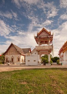 Free Bell Tower In Thai Temples. Royalty Free Stock Image - 19653436
