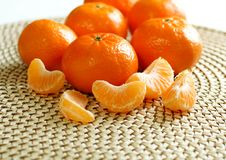 Free Fresh Tangerines Stock Photography - 19654362