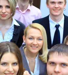 Successful Business Team Working Stock Photography