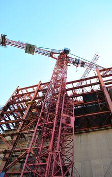 Free Construction Crane Stock Photo - 19654440