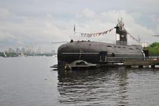Free Old Military Submarine Stock Photo - 19654520