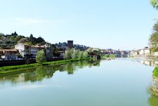 Beautiful Panoramic View Of Old City Royalty Free Stock Photos