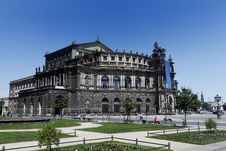 Free The Semperoper Of Dresden, Saxony Stock Photography - 19654562