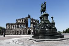 Free The Semperoper Of Dresden, Saxony Stock Photography - 19654842