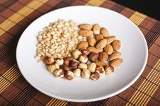 Free Mixed Nuts Stock Image - 19655061
