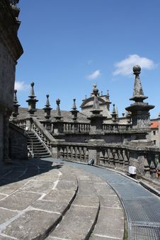 Free Santiago De Compostela Cathedral Royalty Free Stock Photography - 19655357