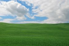 Free Hill In Tuscany Royalty Free Stock Images - 19655419