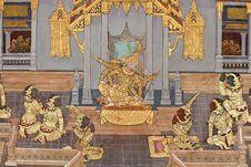 Pattern Paint Thai Stock Image