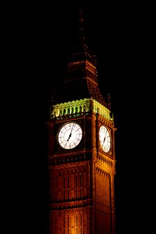 Free Big Ben Royalty Free Stock Photography - 19655507