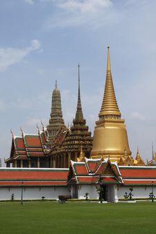 Free The Grand Palace In Bangkok Royalty Free Stock Images - 19655849