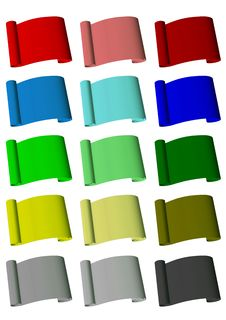 Free The Multi-color Collection Of Rolls Stock Photo - 19655880
