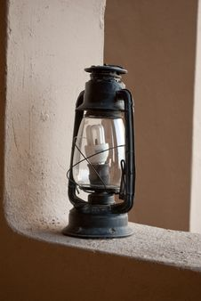 Free Antique Lantern Stock Image - 19656201