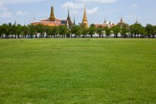 Wat Phra Kaew. Royalty Free Stock Photos