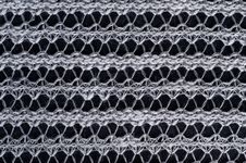 Free Knitted Thread Texture Background Stock Images - 19656734