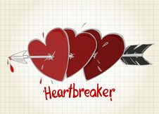 Free Heartbreaker Royalty Free Stock Images - 19656889