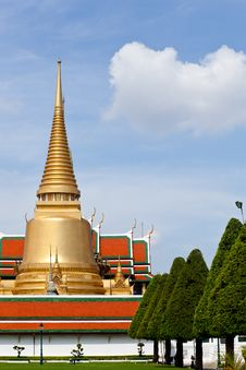 Free Wat Phra Kaew. Royalty Free Stock Images - 19657149