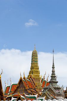 Free Wat Phra Kaew. Royalty Free Stock Images - 19657259