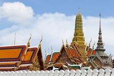 Free Wat Phra Kaew. Stock Photo - 19657290