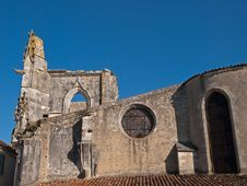 Old Ruins Of A Medieval Church Stock Image
