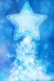 Free Big Blue Stars Background Stock Photos - 19658683
