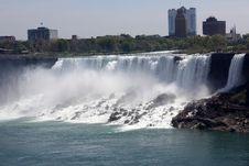Free Niagara Falls Royalty Free Stock Image - 19658876