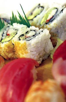 Free Sushi Royalty Free Stock Photos - 19659108
