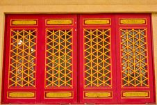 Free Door In Chinese Temple Royalty Free Stock Image - 19659216
